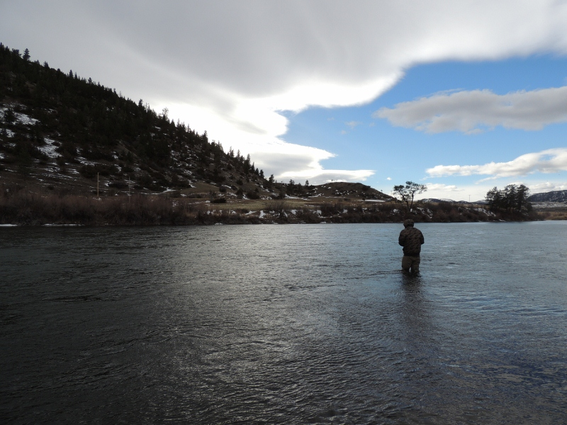 Missoula winter fishing