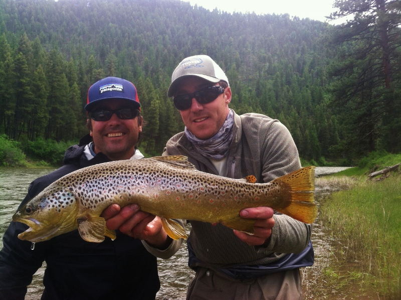 Montana fly fishing outfitters dan mahoney for Missoula montana fly fishing
