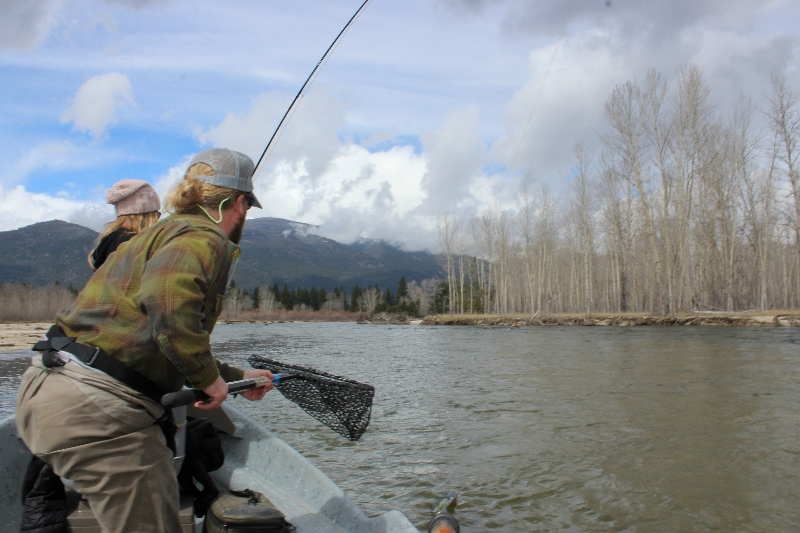 Mid april fishing report twitch it fred missoula on for Bitterroot river fishing report