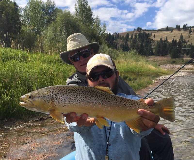 Hints of fall missoula on the fly for Missoula montana fly fishing