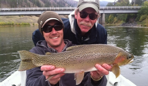 Missoula montana fly fishing packages missoula on the fly for Rock creek montana fishing report