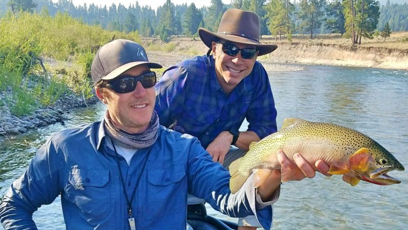 September seems right missoula fly fishing report for Flying fish happy hour